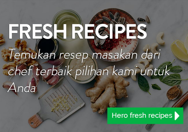 Hero Supermarket - Fresh Recipes