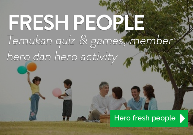 Hero Supermarket Fresh People