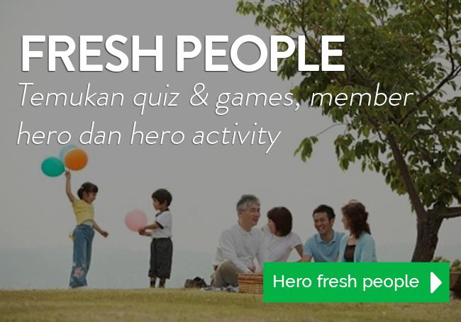 Hero Supermarket Fresh People