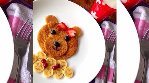 resep-pancake-bear-madu-lucu